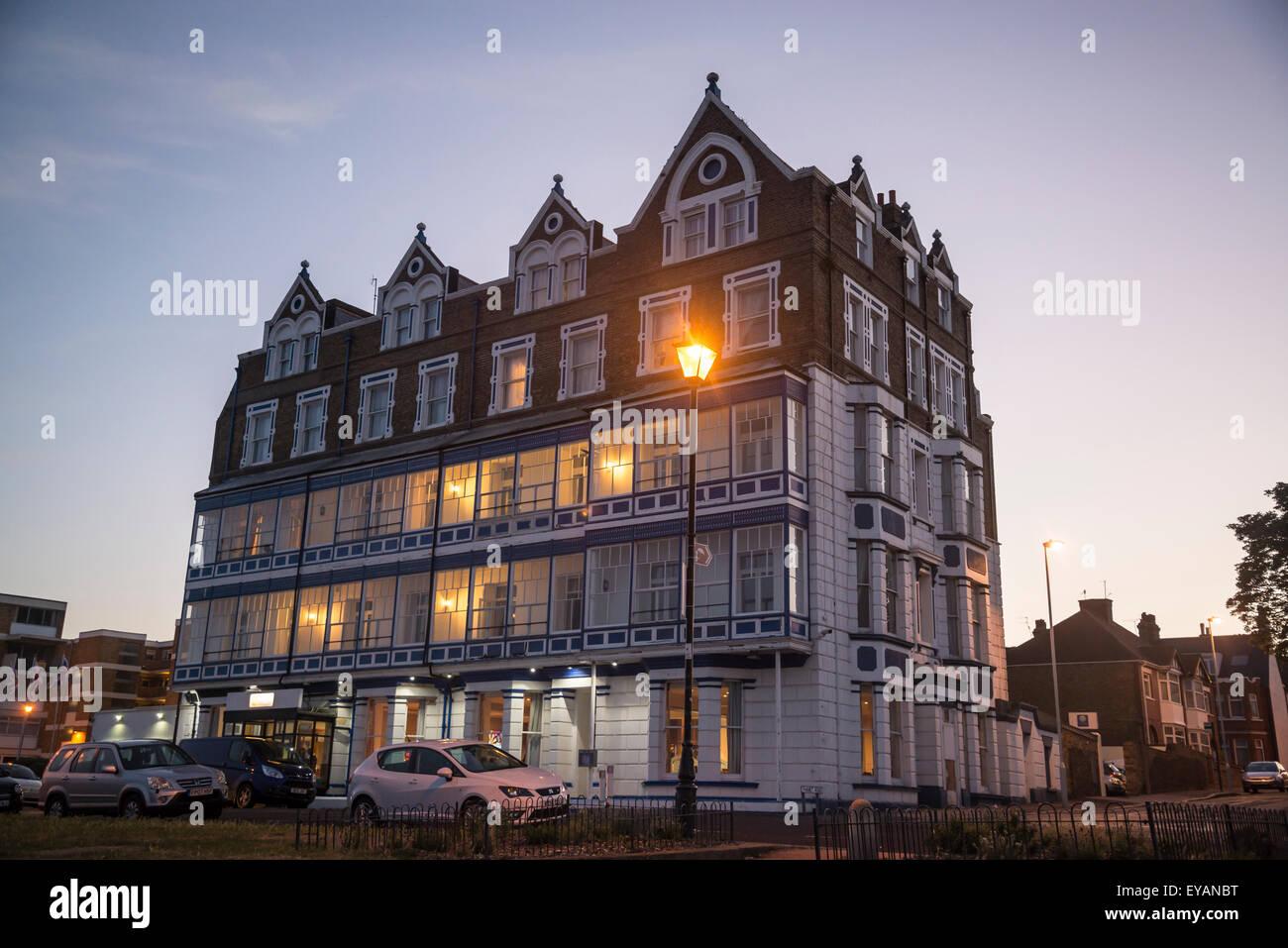 Comfort Inn Hotel, Ramsgate, Kent, Inglaterra, Reino Unido. Imagen De Stock
