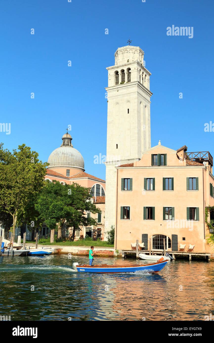 Isola di san pietro imgenes de stock isola di san pietro fotos el campanile campanario de la basilica di san pietro di castello isola isla imagen de sciox Gallery