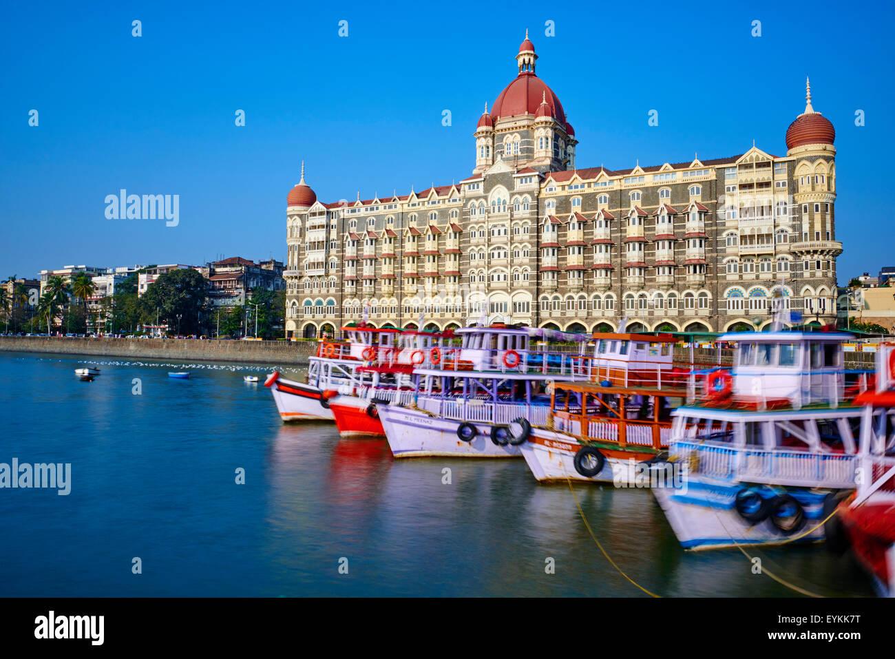 La India, Maharashtra, Mumbai (Bombay), el Taj Mahal Palace hotel Imagen De Stock