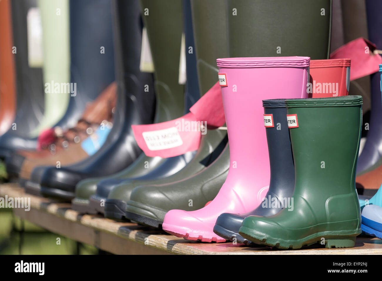 Hunter Wellies Imágenes De Stock & Hunter Wellies Fotos De Stock - Alamy