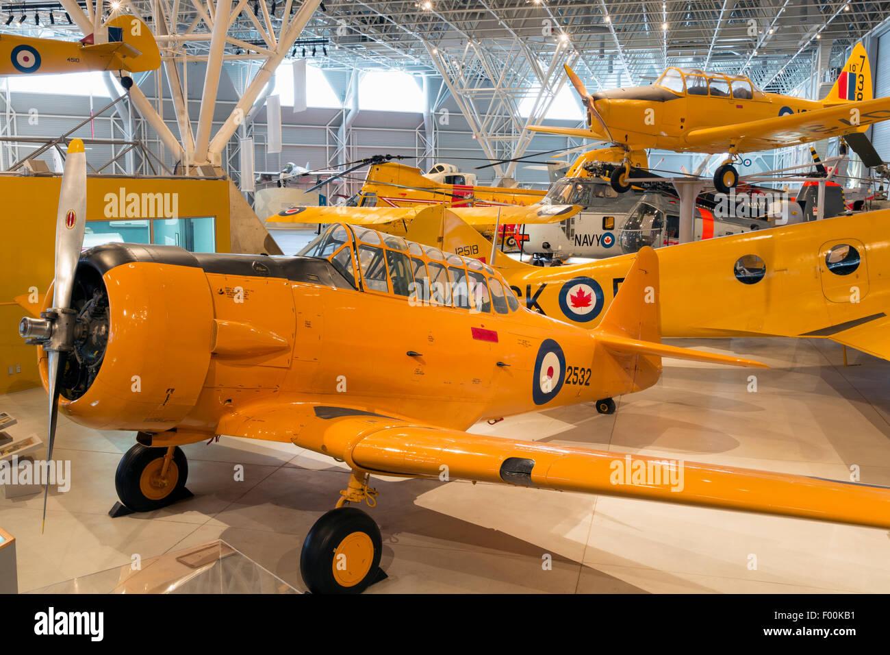 Ontario,Canadá, Ottawa, Canadá Aviation & Space Museum Foto de stock