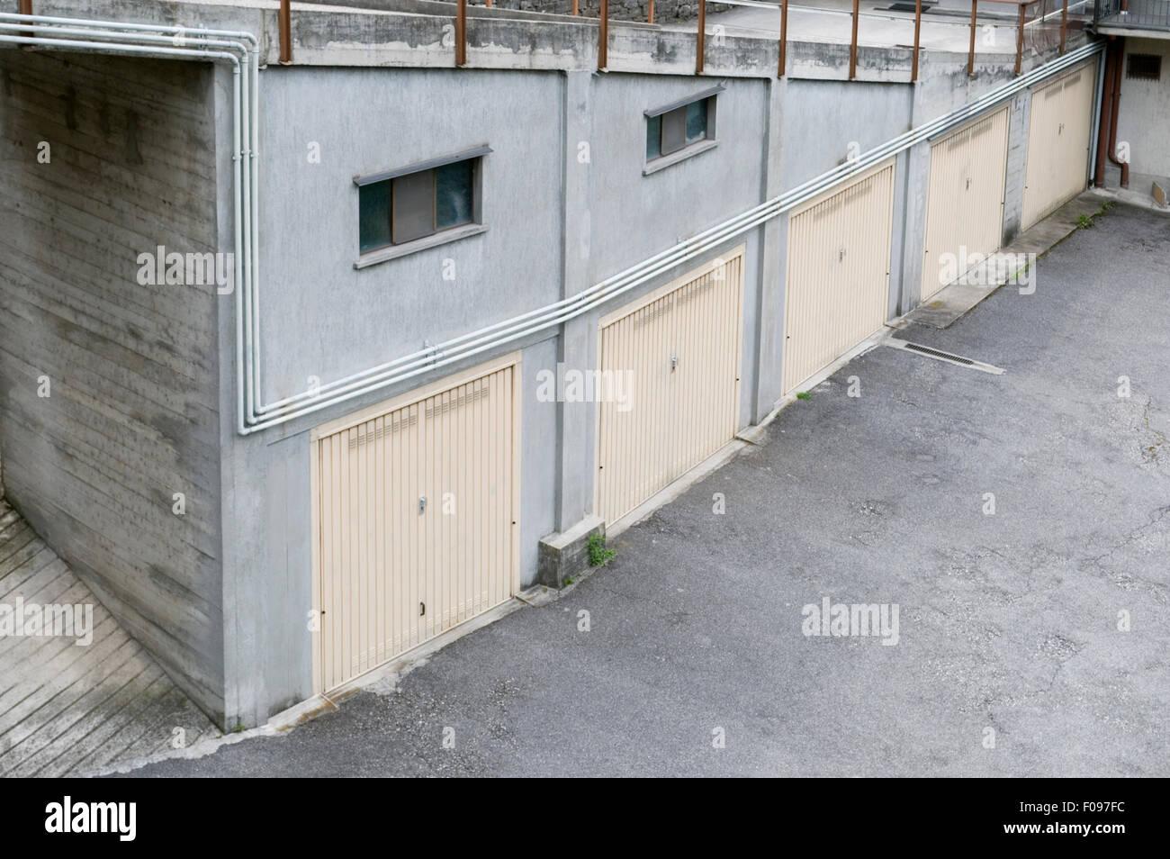 Garajes, Italia Imagen De Stock
