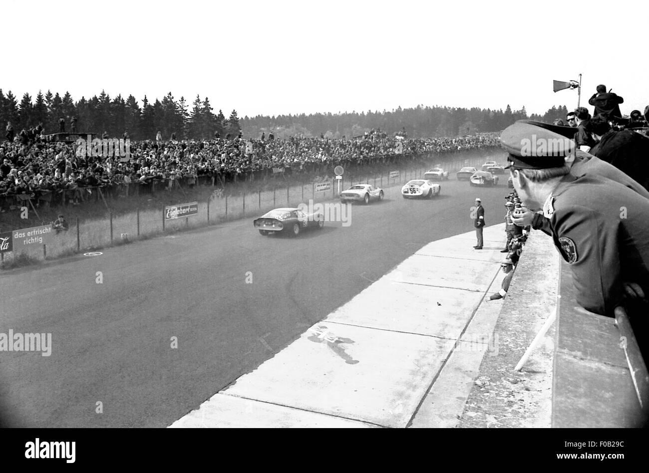 1000km de Nurburgring 1965 Imagen De Stock
