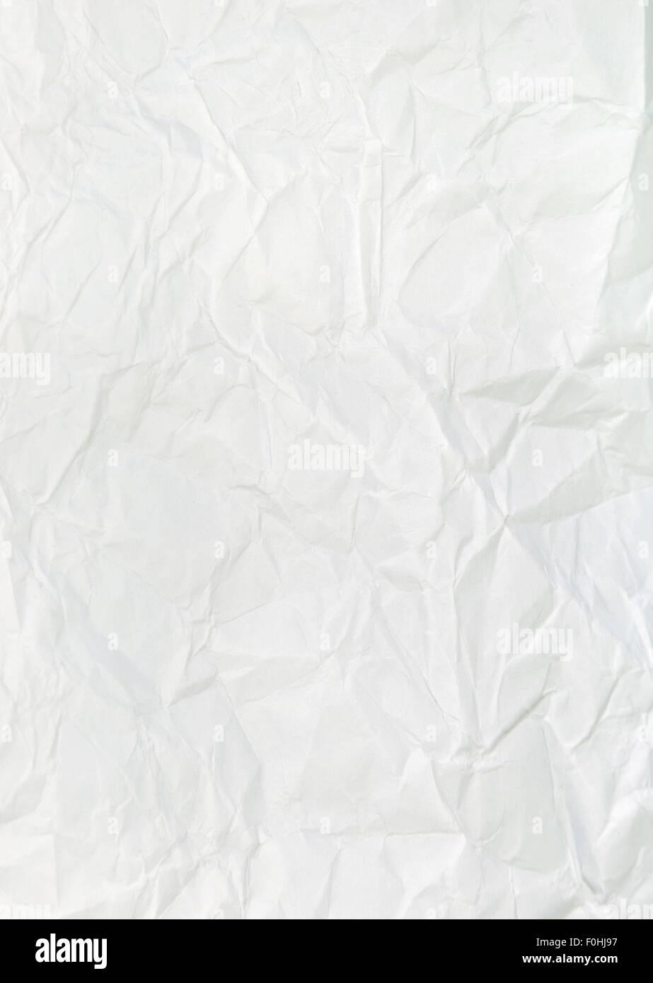 Textura del papel. Hoja de papel blanco Imagen De Stock