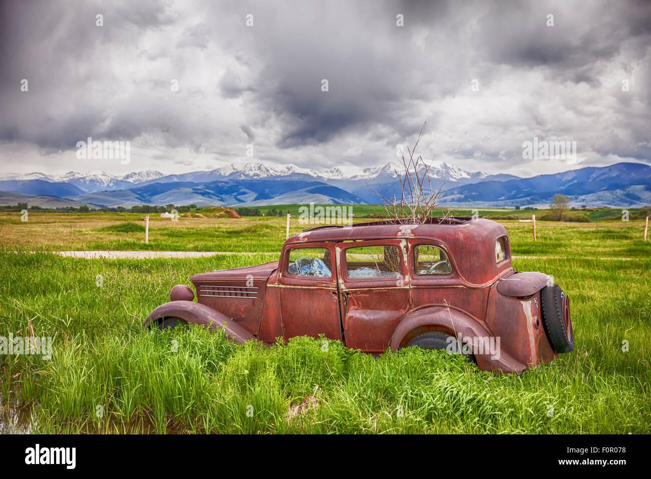 La oxidación Jalopy en Finca Montana Imagen De Stock