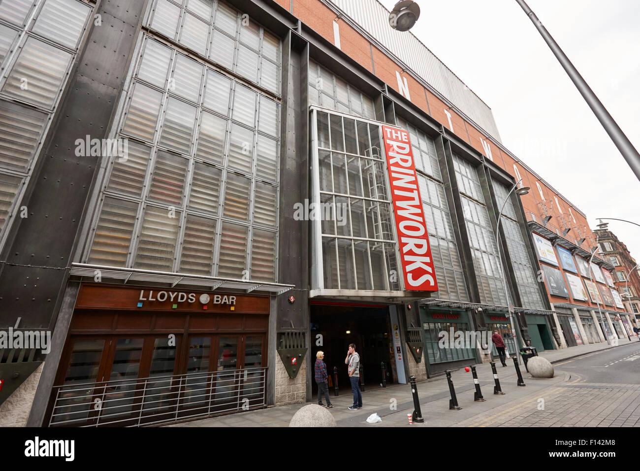 El complejo de ocio Printworks Manchester uk Imagen De Stock
