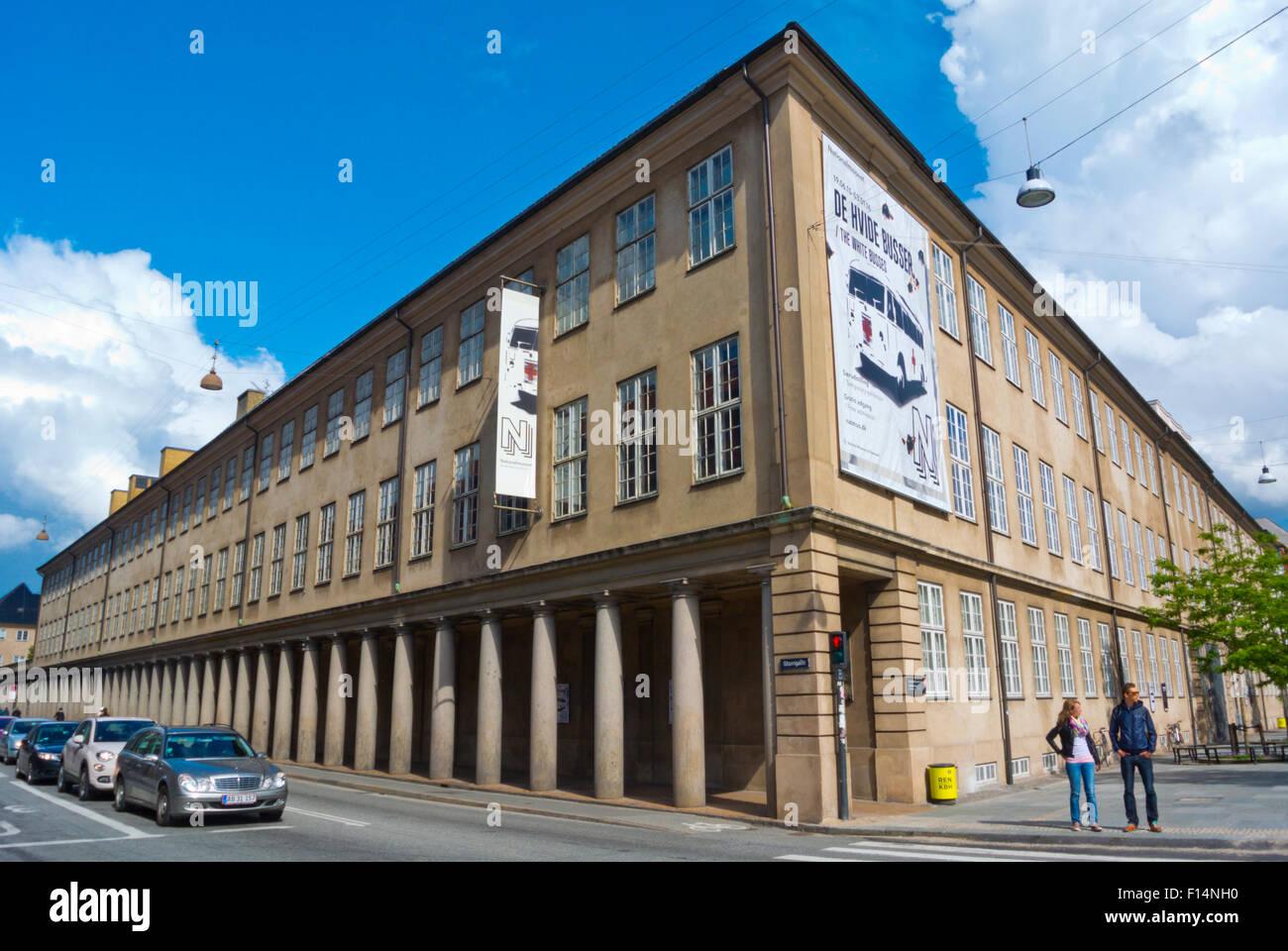 Museo Nacional de Dinamarca, el Príncipe, la mansión, Copenhague, Dinamarca Foto de stock