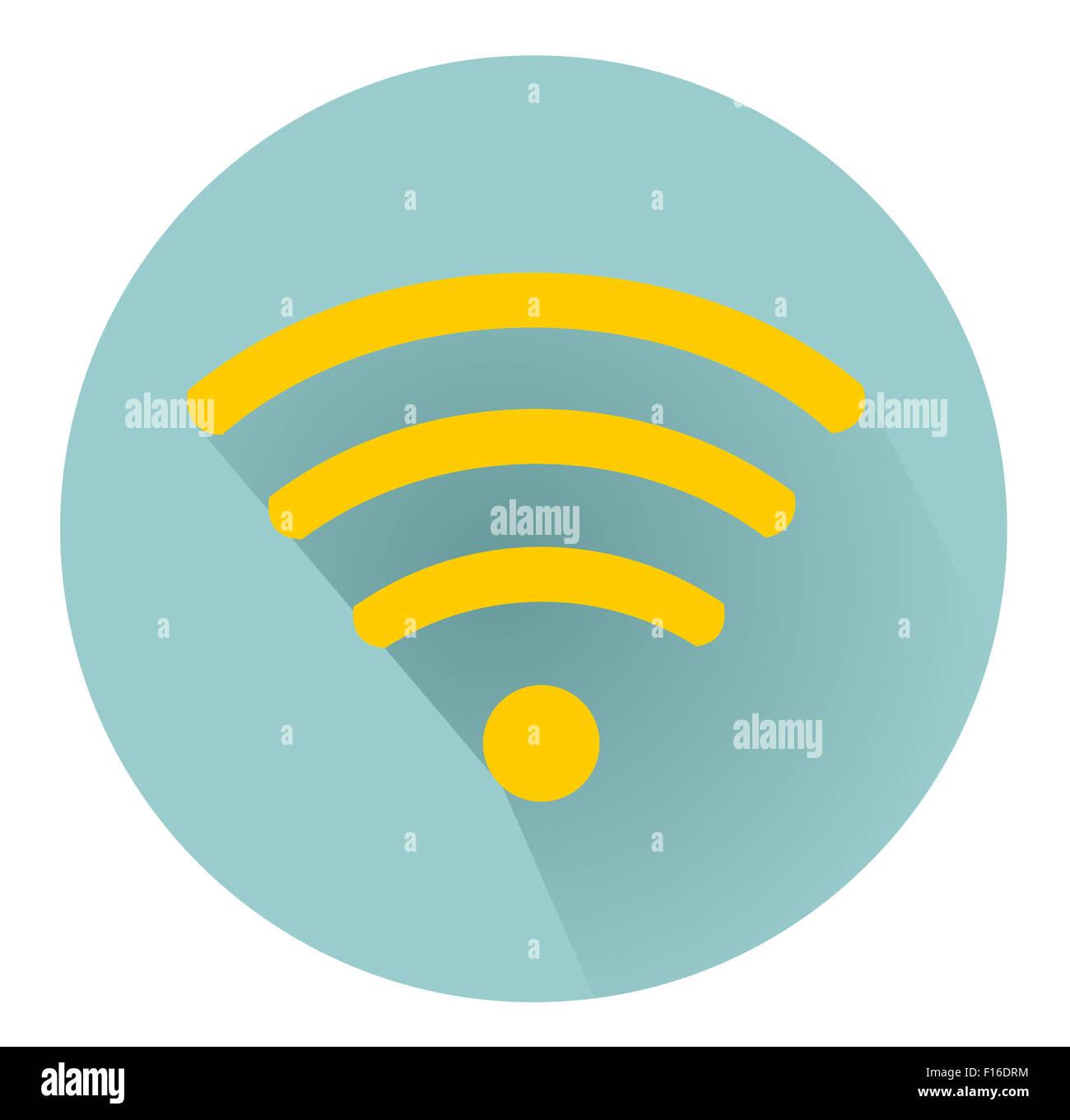 Símbolo de WiFi Imagen De Stock