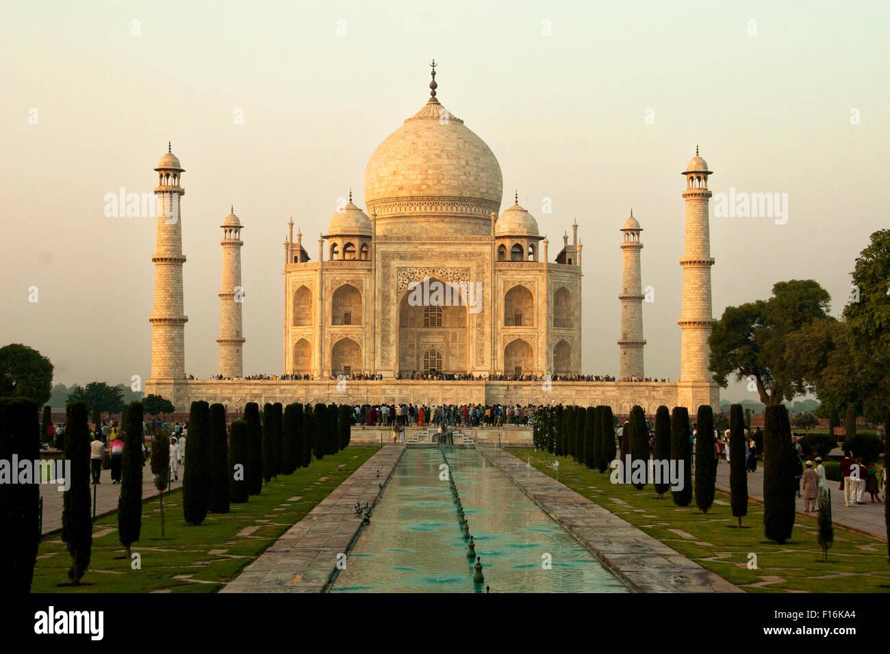 Taj Mahal, Agra, India Imagen De Stock