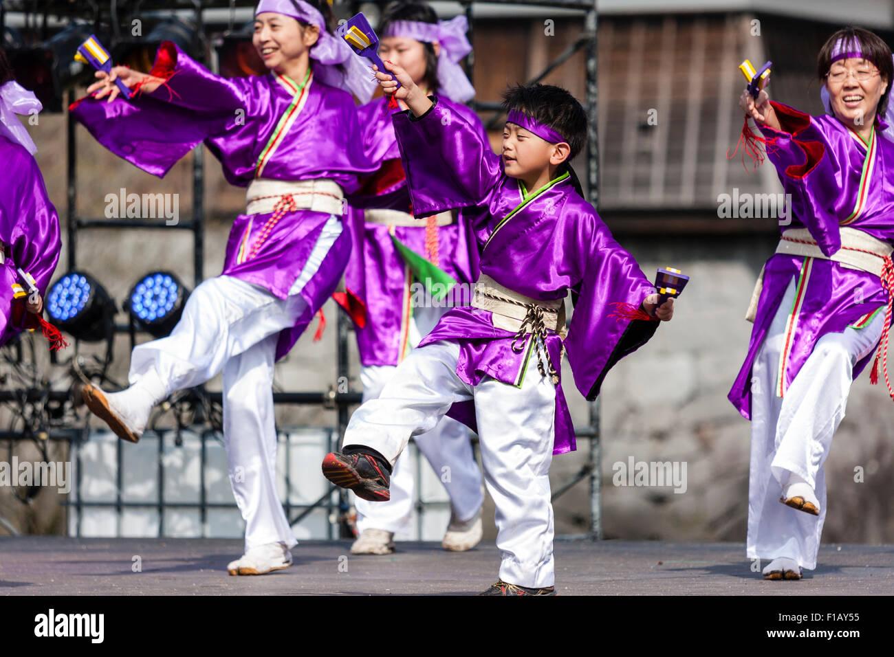 Kumamoto Japan Hinokuni Yosakoi Dance Imágenes De Stock & Kumamoto ...