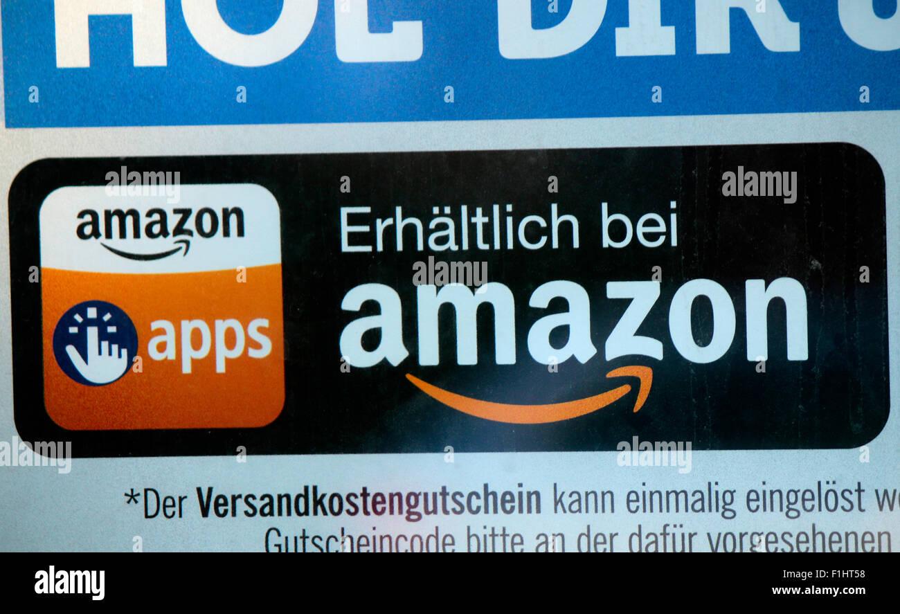 "Markennamen: ""Amazon"", ""Amazon Apps', de Berlín. Imagen De Stock"