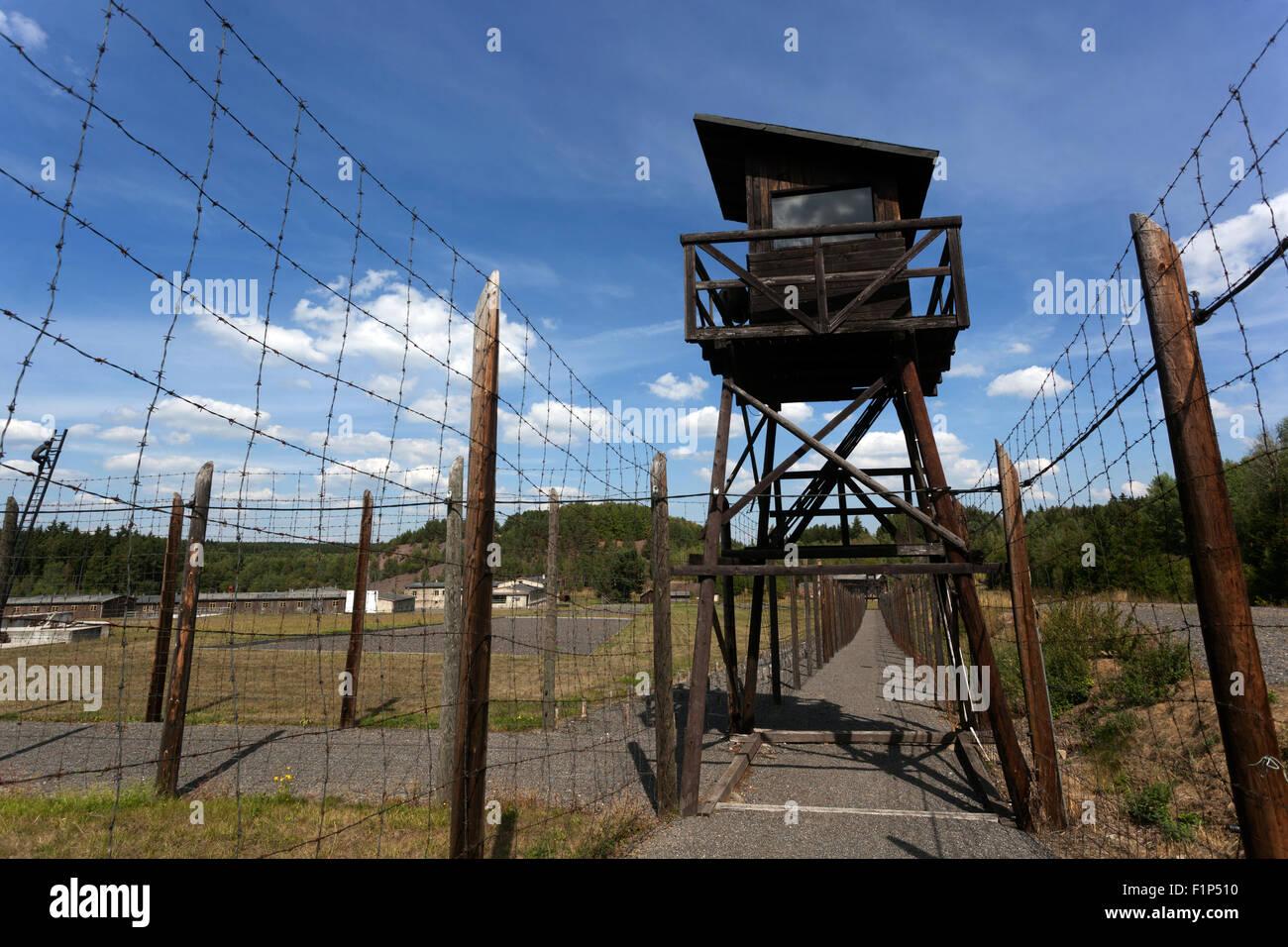 Checoslovaquia comunismo,guerra fría, Vojna Memorial, el Museo de las víctimas del comunismo, cerca de Imagen De Stock