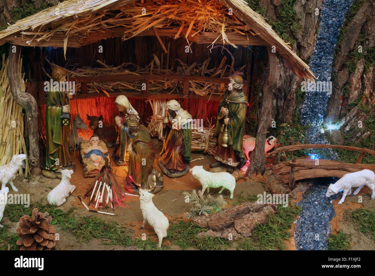 ea5c124399cdb Los pesebres navideños Foto   Imagen De Stock  87251782 - Alamy