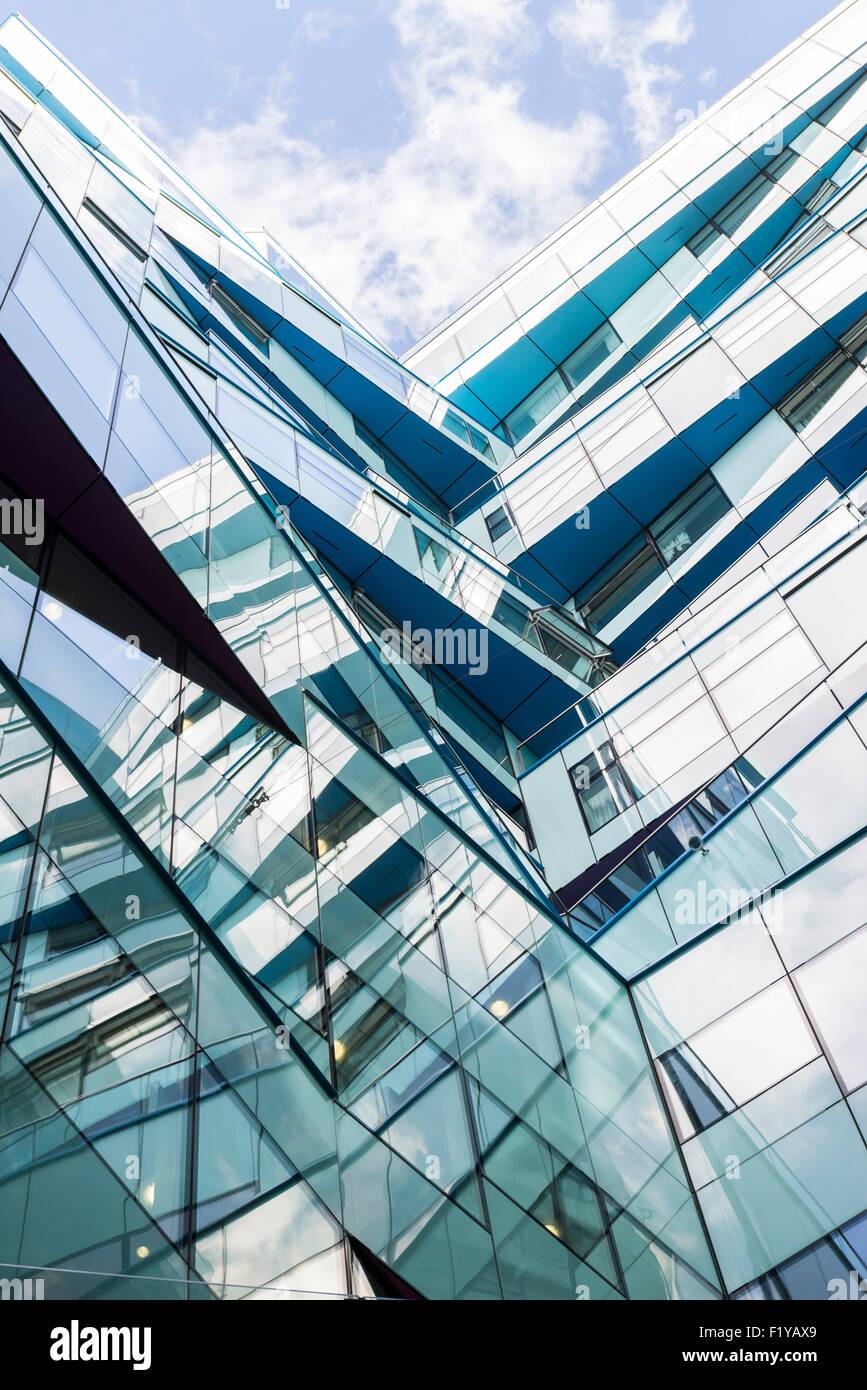 La creación de cubos, Birmingham, Inglaterra Imagen De Stock