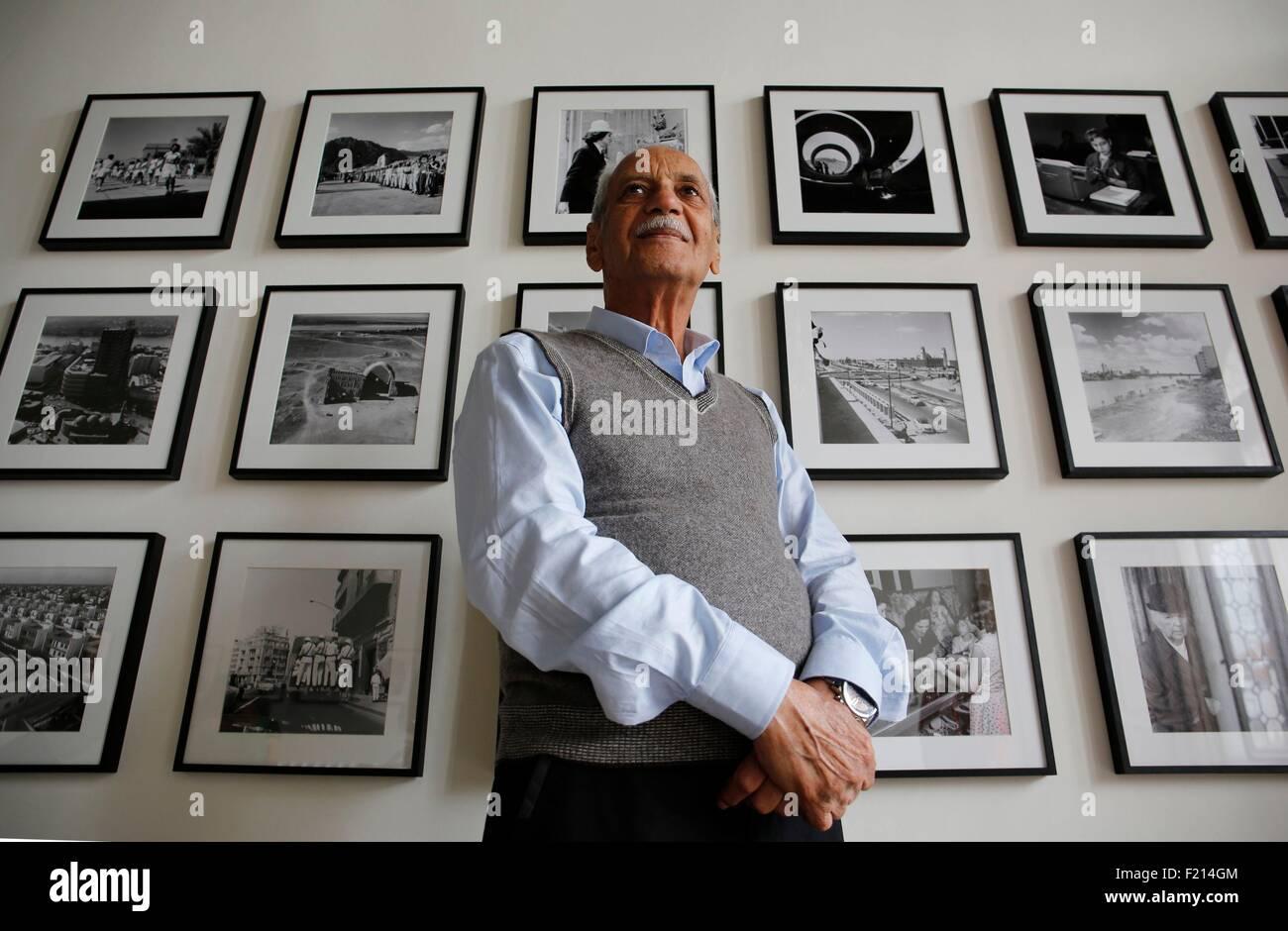 Italia, Venecia, exposiciones de arte durante la Bienal de 2015, Irak Pavilionin Ca'Dandolo palace la belleza invisible,imágenes por el fotógrafo Latif Al-Asni Foto de stock
