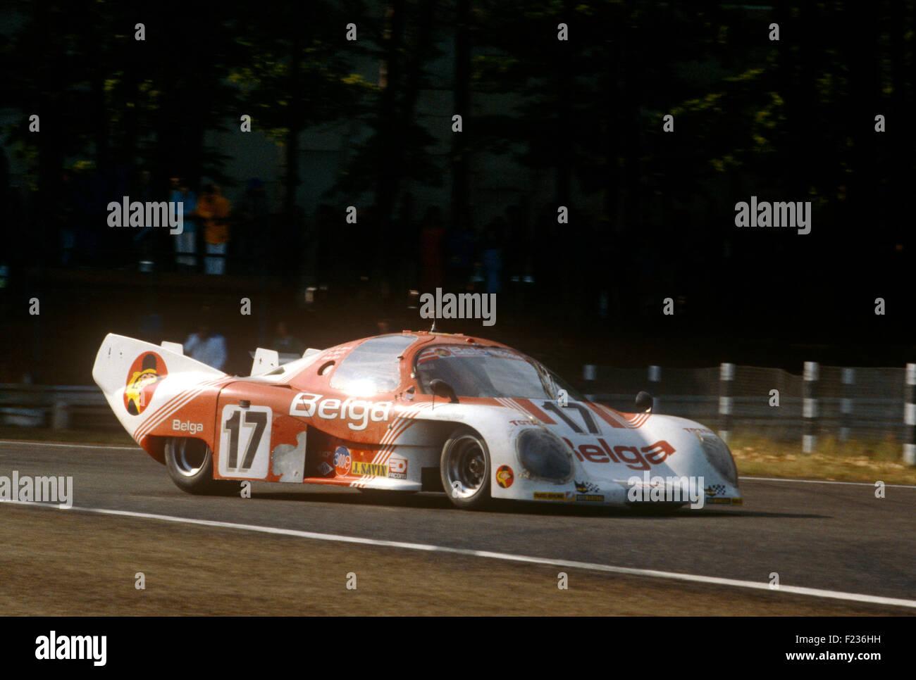 17 Gordon Spice, Jean-Michel Martin y Philippe Martin Rondeau M379B el 15 de junio de 1980 Imagen De Stock