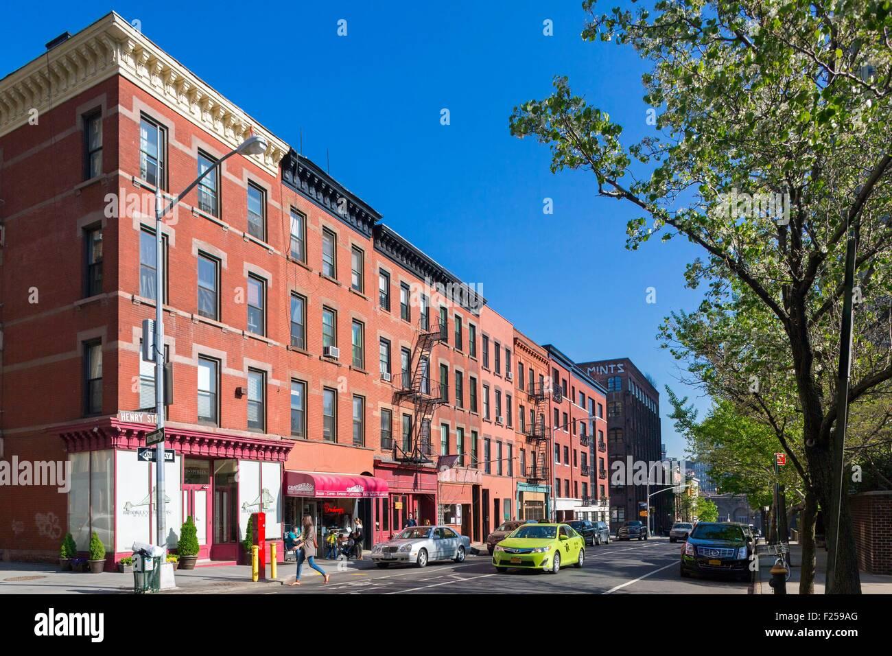Estados Unidos, Nueva York, Brooklyn, Brooklyn Heights, Cadman Plaza Imagen De Stock