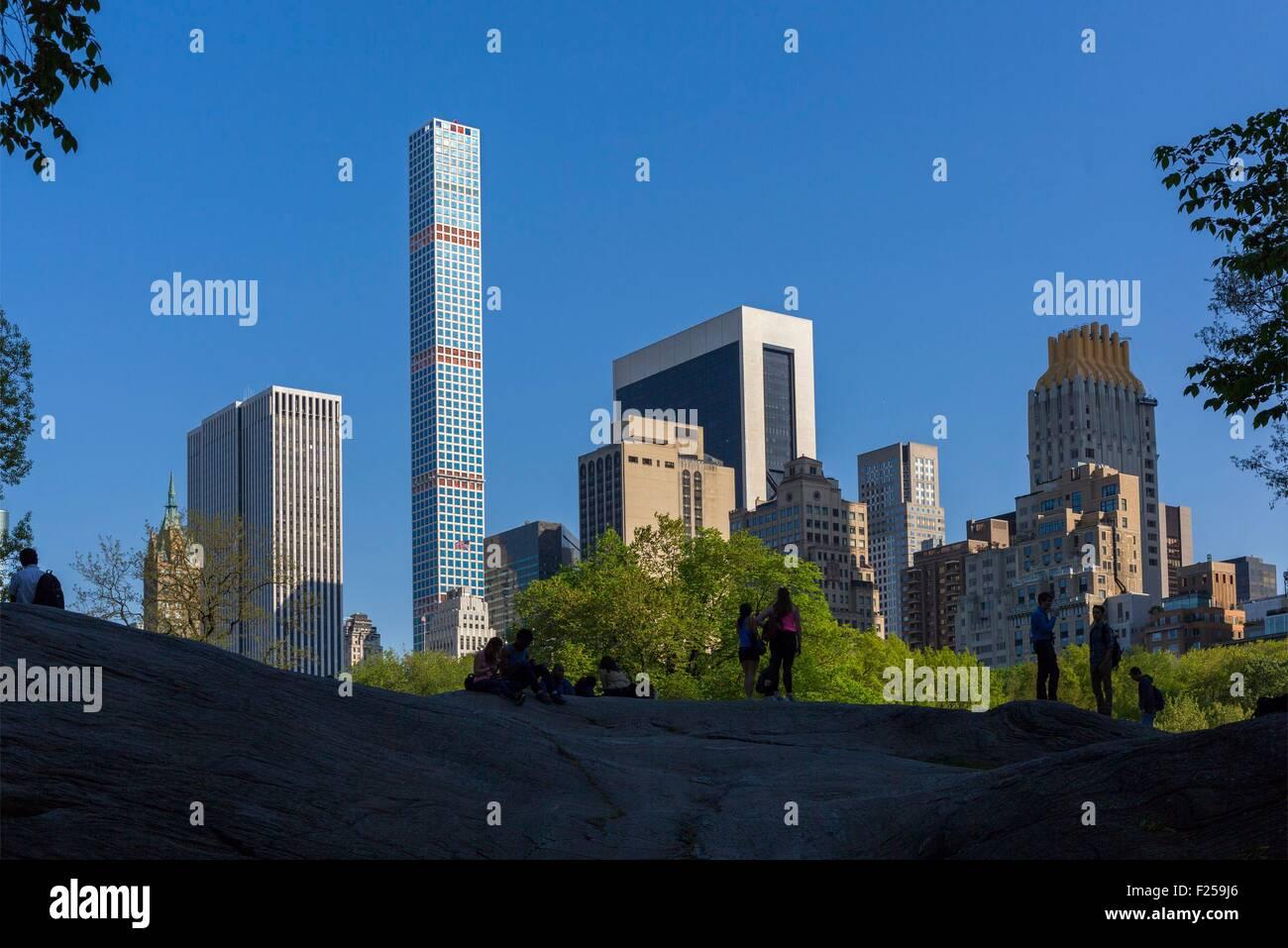 Estados Unidos, de Nueva York, Central Park Imagen De Stock