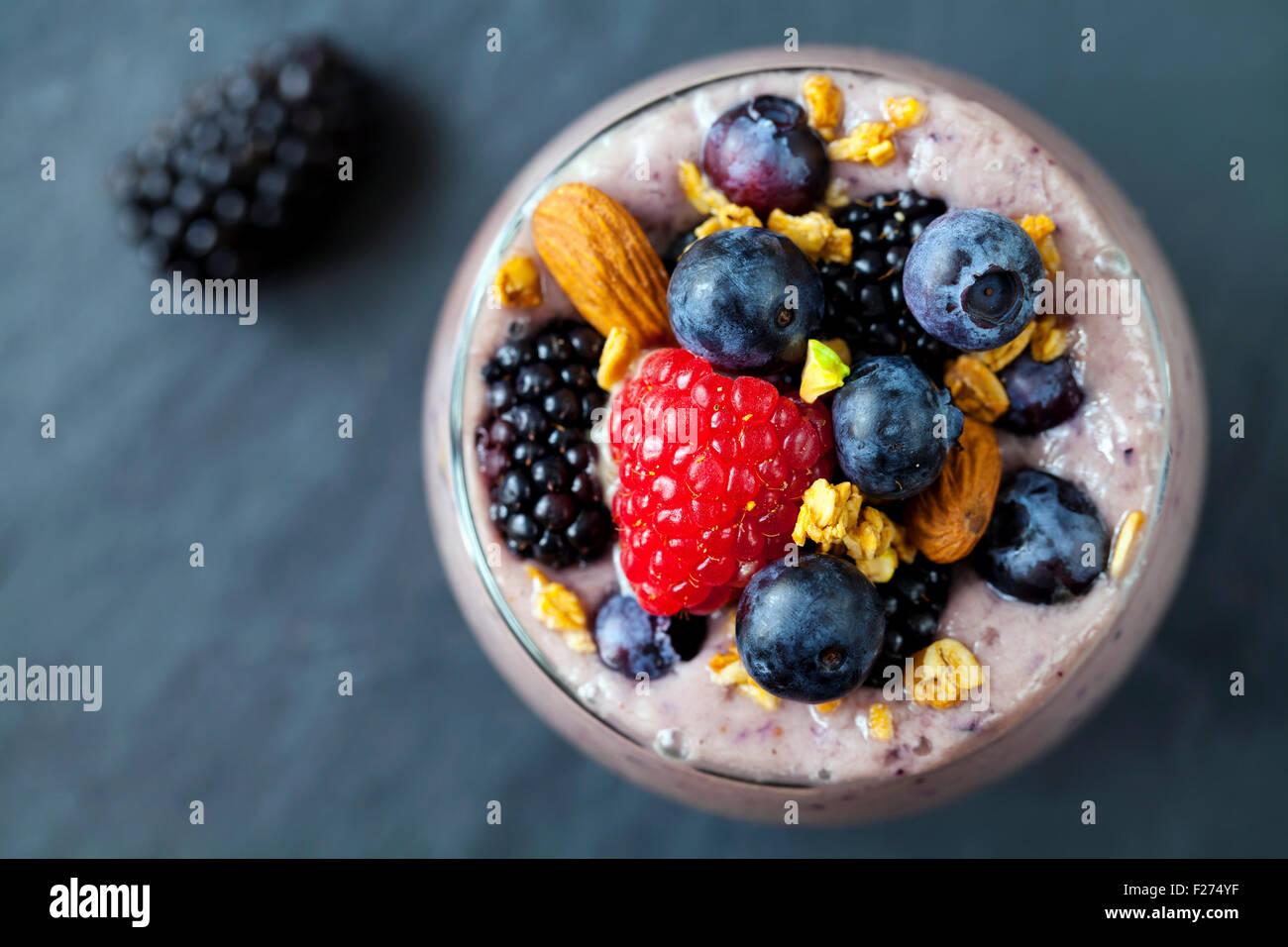 Licuado de frutas Imagen De Stock