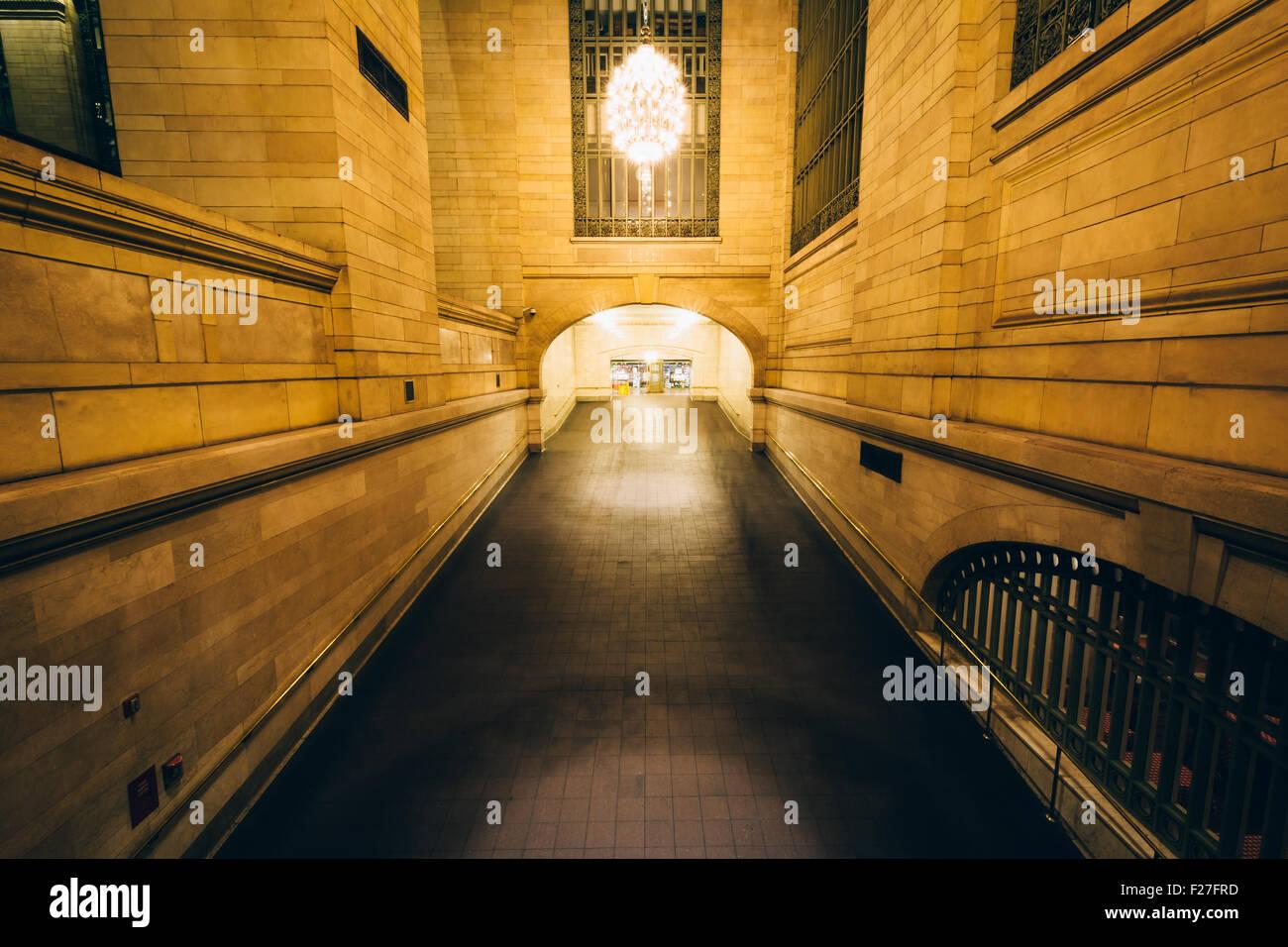 Paseo en la Grand Central Station, en Manhattan, Nueva York. Imagen De Stock