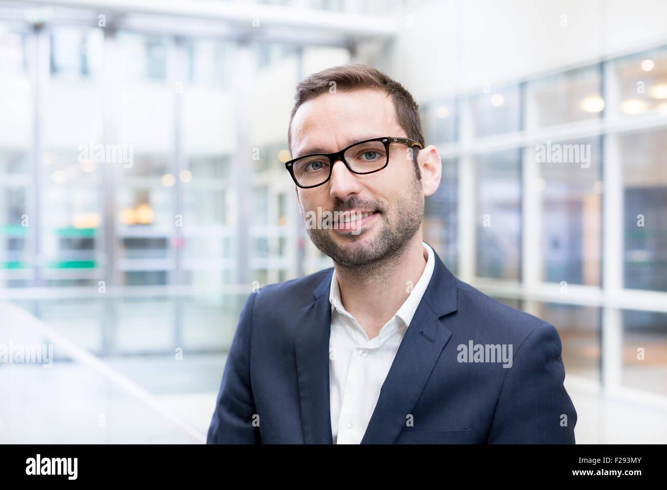 Retrato de un hombre de negocios Imagen De Stock