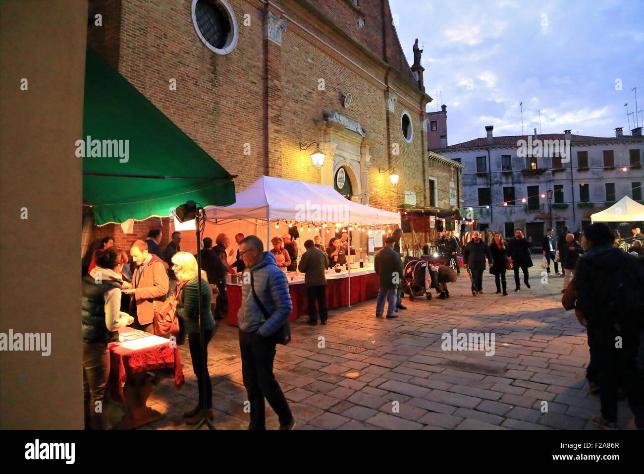 La Festa di San Martino, Venezia Imagen De Stock