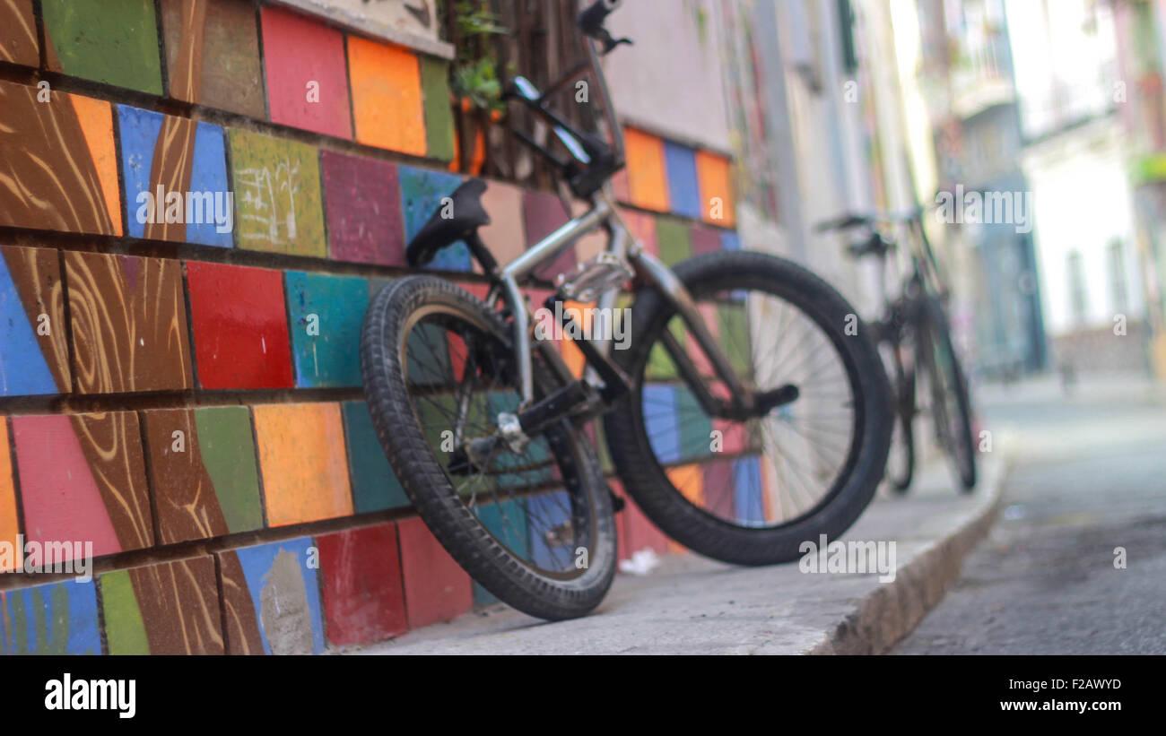 Graffiti coloridas plazas -grafiti coloridos cuadrados Imagen De Stock
