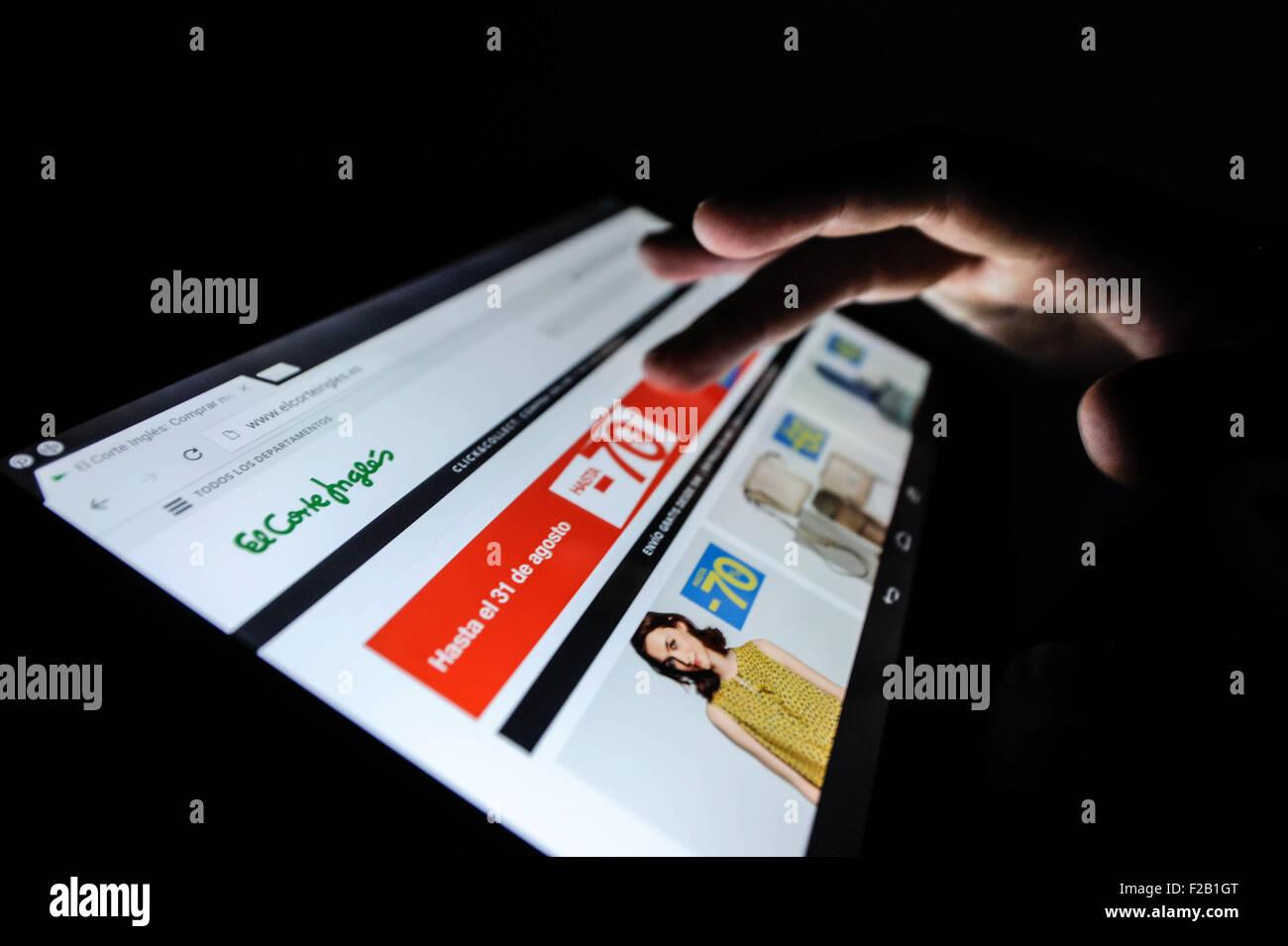 bca33e1452c Sitio web de compras on-line de El Corte Inglés- página web de las compras  en línea del Corte Inglés