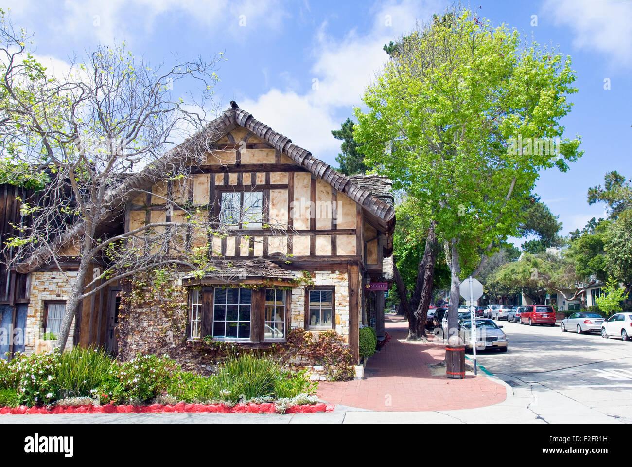Kerry Lee notable joyería en Carmel, California Imagen De Stock