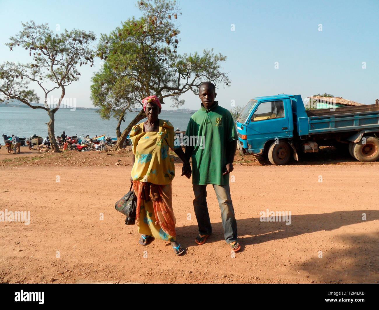 Personen, Uganda. Imagen De Stock