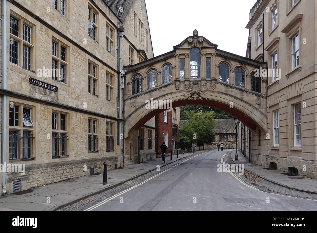 Hertford Bridge Oxford -1 Imagen De Stock