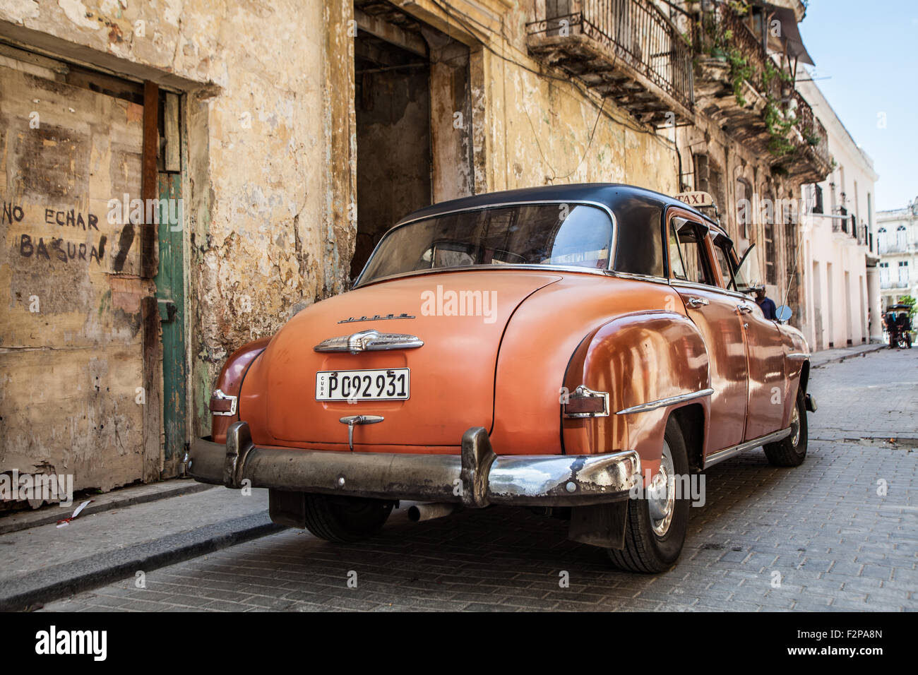 Coches de la Habana Imagen De Stock