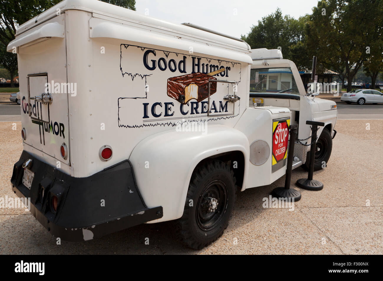 Antique Buen Humor camión de helados - EE.UU. Imagen De Stock