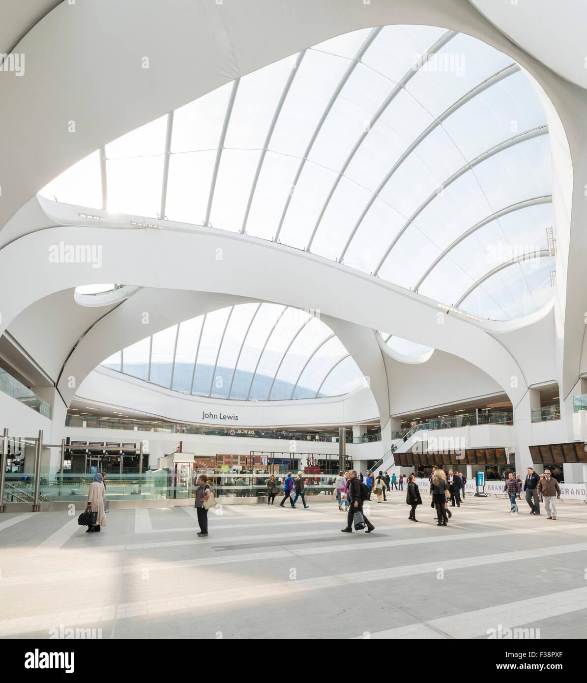 Grand Central en la estación de New Street, Birmingham Imagen De Stock