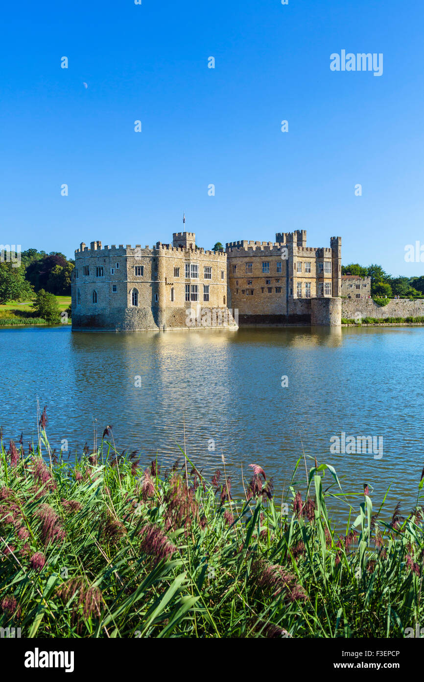 Castillo de Leeds, cerca de Maidstone, Kent, Inglaterra, Reino Unido. Foto de stock