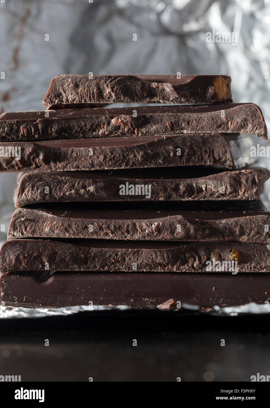 Chocolate oscuro Imagen De Stock
