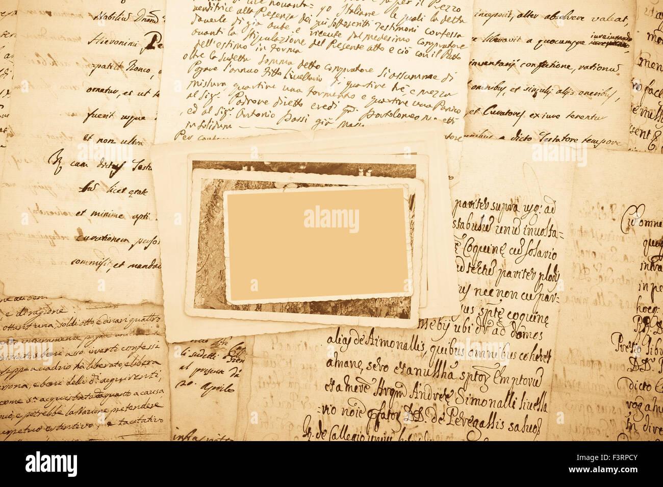 Letra e imágenes con trazado de recorte Foto de stock
