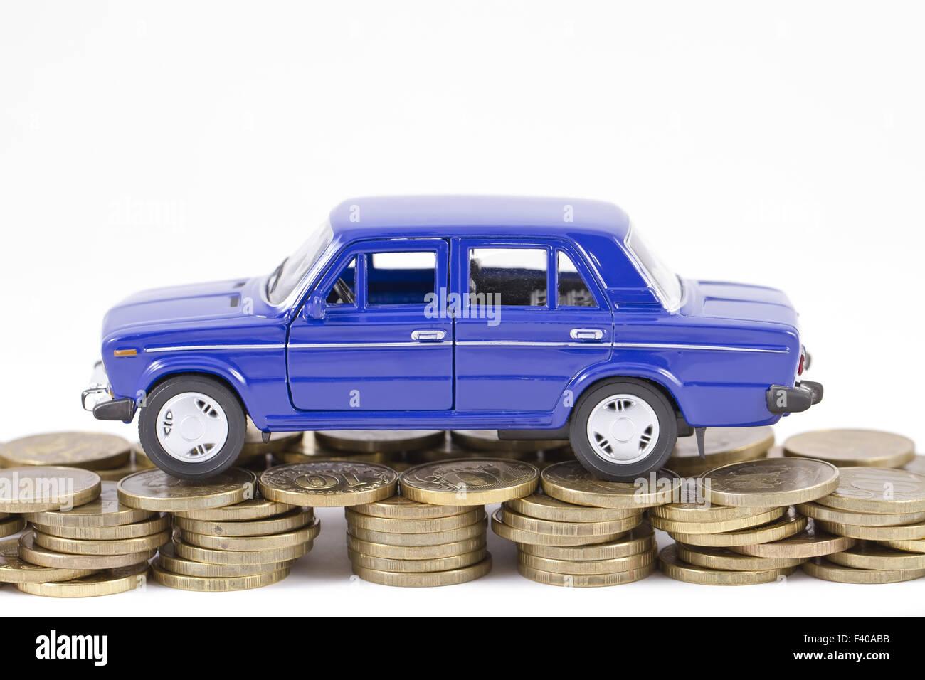 Concepto: La reparación de automóviles Imagen De Stock
