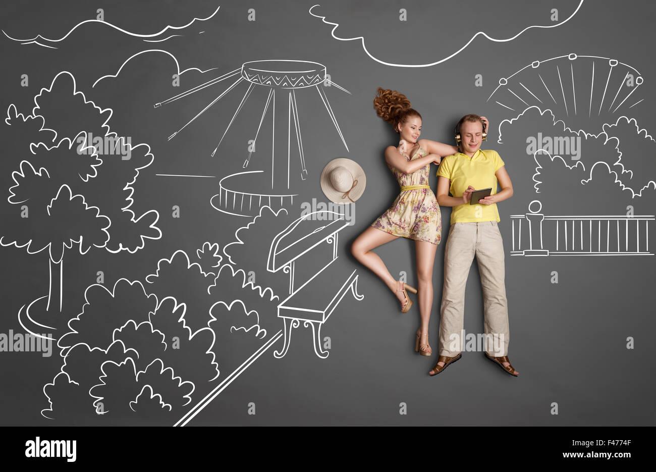 Fecha y wi-fi. Imagen De Stock