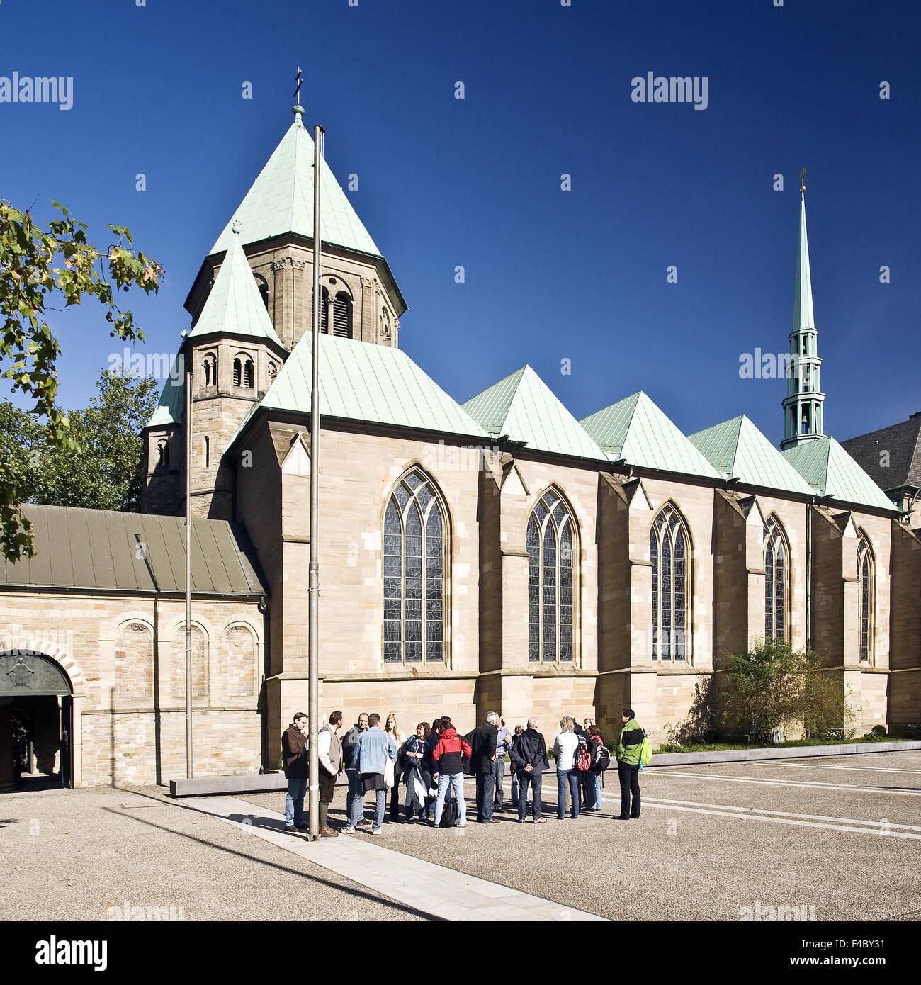 El Dom, la catedral de Essen, Alemania Imagen De Stock