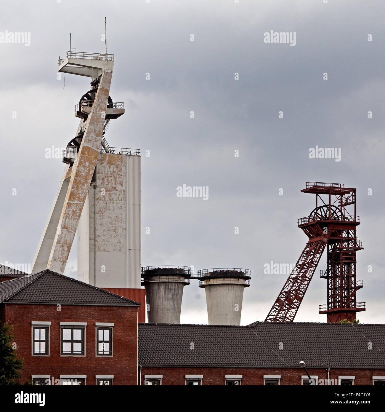 Colliery Schlaegel y hierro, Herten, Alemania Foto de stock