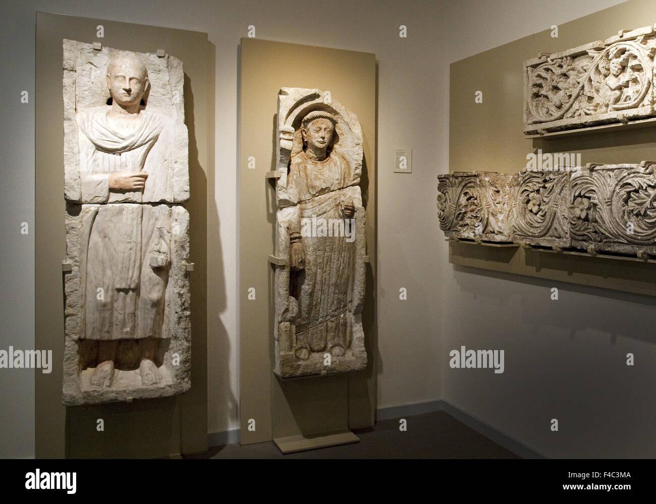 Museo de iconos, Recklinghausen, Alemania Imagen De Stock