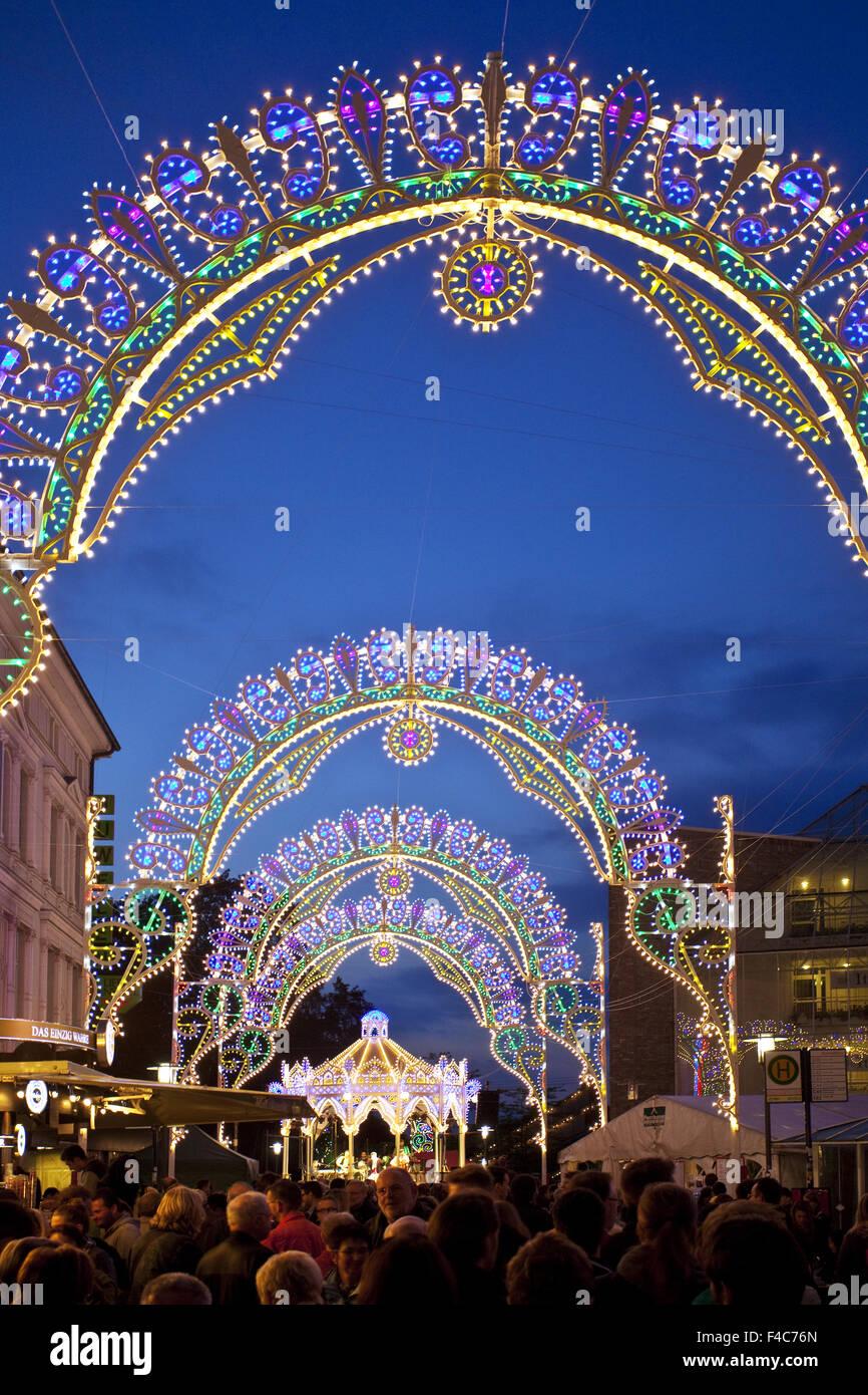 Anu evento fiesta italiana, Unna, Alemania Imagen De Stock