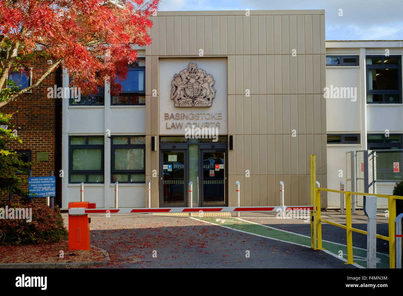 Basingstoke magistrados y tribunales. La Court House London Road Basingstoke Hampshire RG21 4AB. Foto de stock