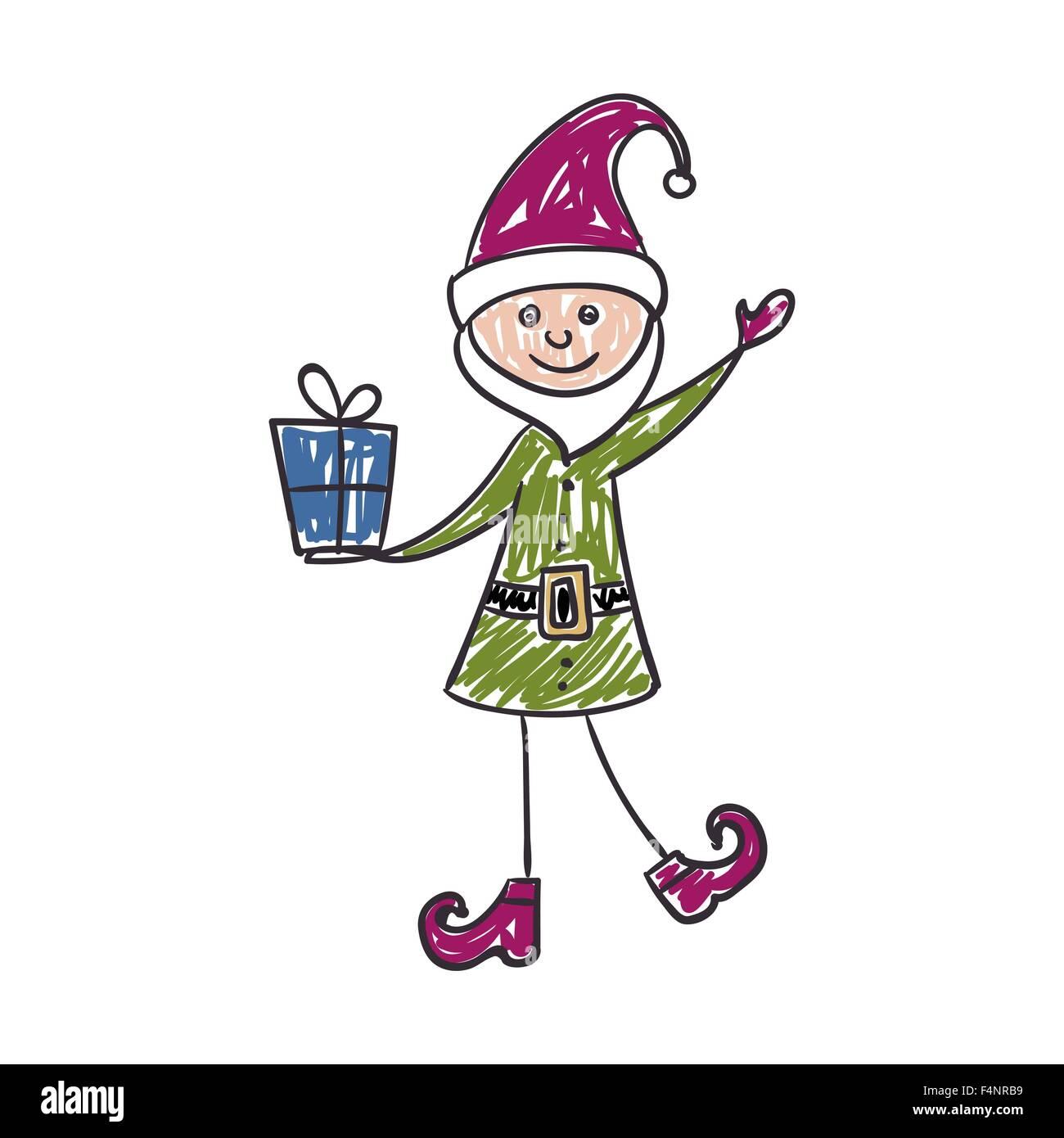 Dibujo Muneco De Nieve Infantil