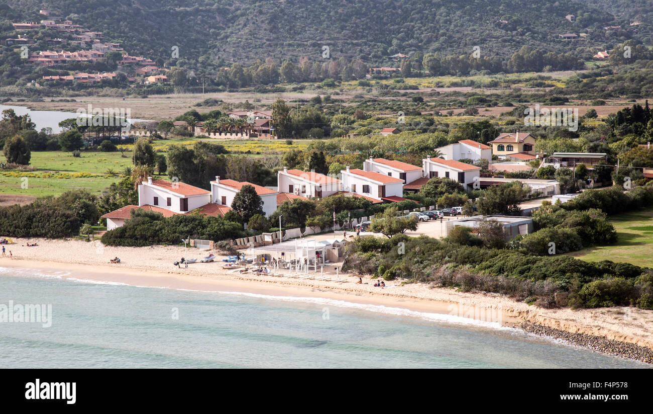 Setti bellas playas Cerdeña Italia Imagen De Stock