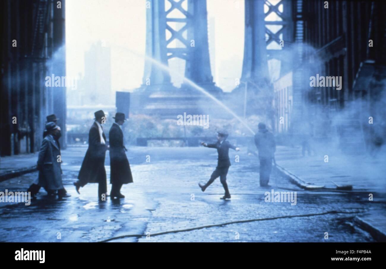 Érase una vez en América 1984 dirigida por Sergio Leone Imagen De Stock