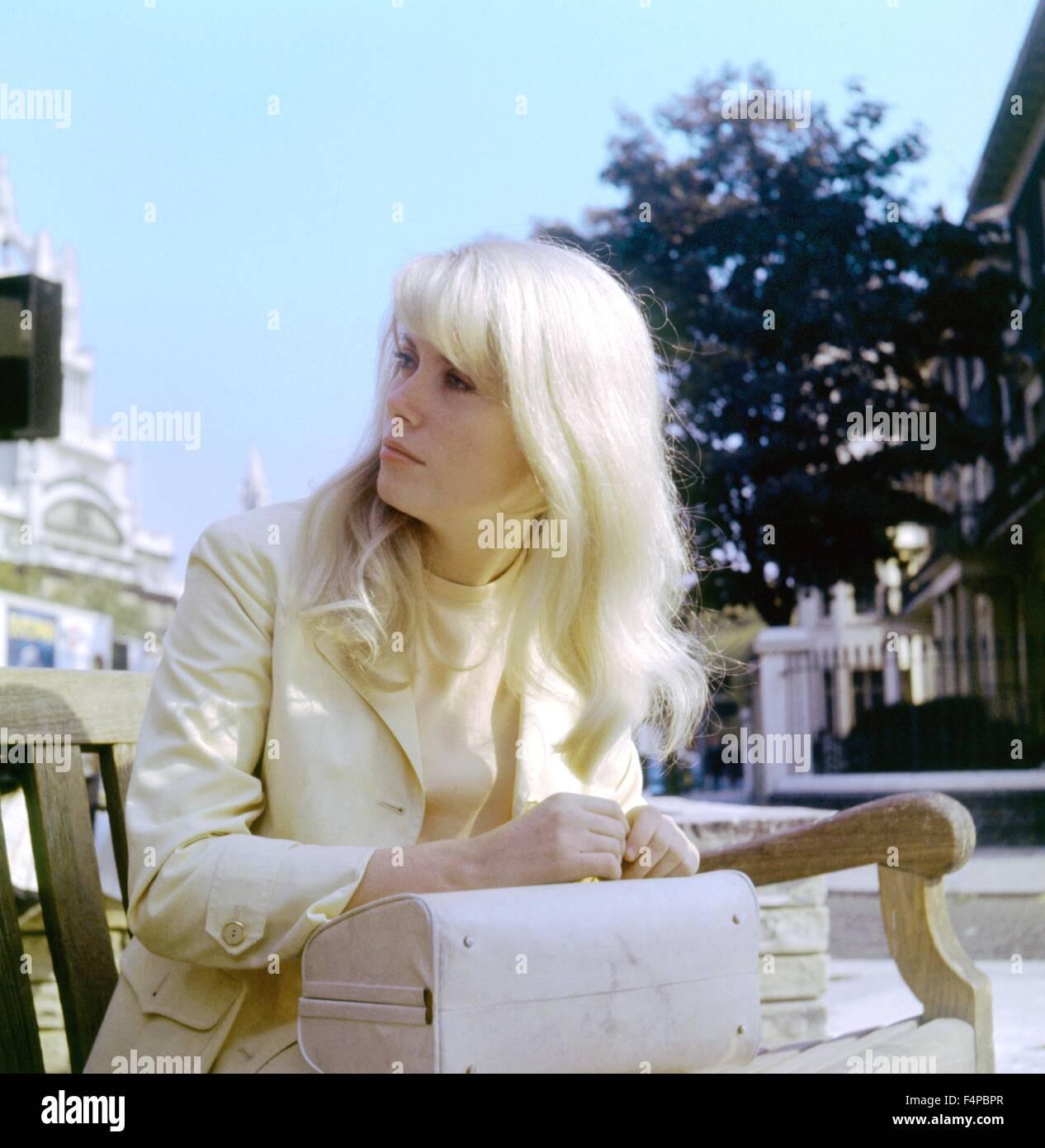 Catherine Deneuve / repulsión de 1965 dirigido por Roman Polanski Imagen De Stock