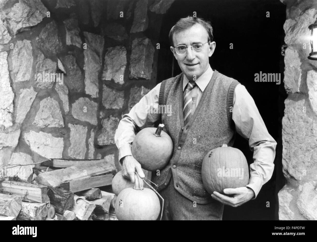 Woody Allen / Zelig 1983 dirigida por Woody Allen Imagen De Stock