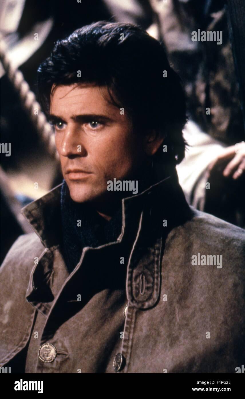 Mel Gibson / El Bounty / 1984 dirigida por Roger Donaldson Foto de stock